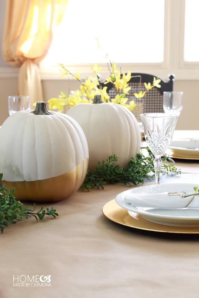 gold-dipped-pumpkins