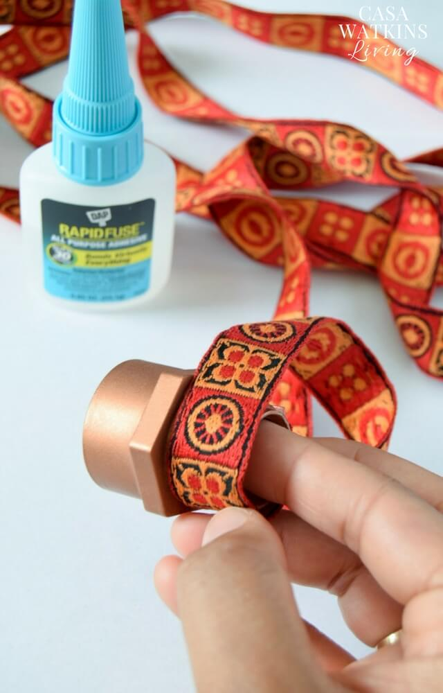 diy-napkin-rings-with-ribbon-and-pvc-pipe