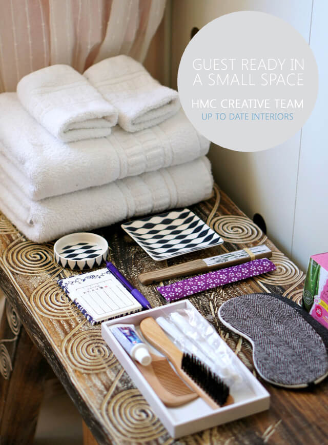 Tips for Getting Guest Ready In A Small Space