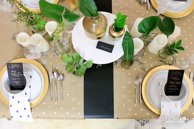 greenery-tablescape