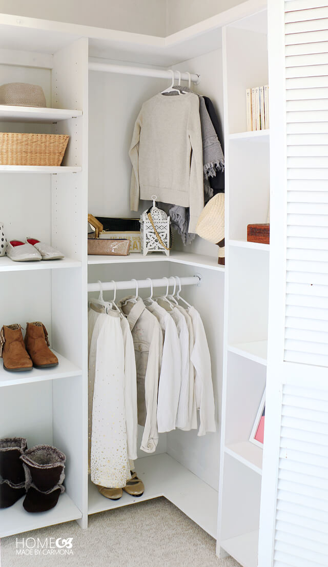 Diy Custom Closet Shelving For Deep Closets Home Made By Carmona