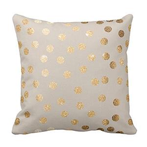 gold-dot-pillow