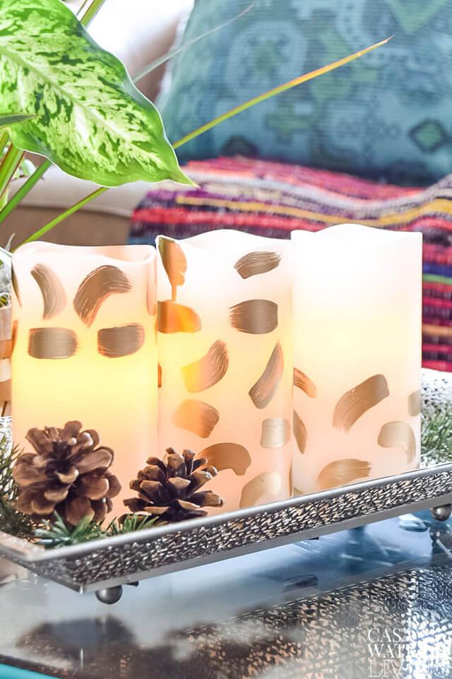 diy-brush-stroke-candles