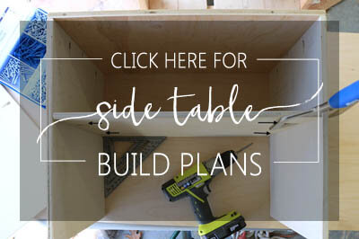 Click Here for Side Table Build Plans