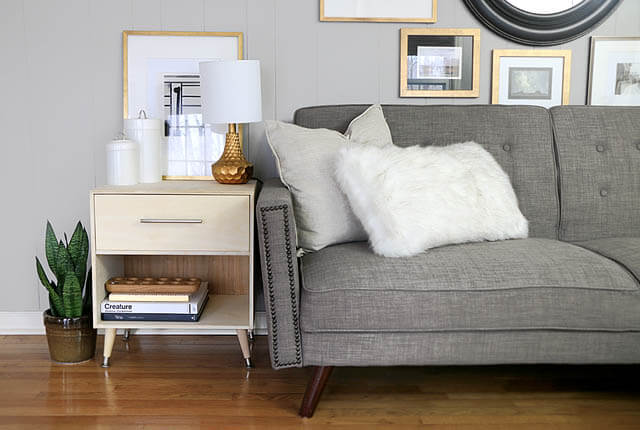 Mid Century Modern Side Table - featured image