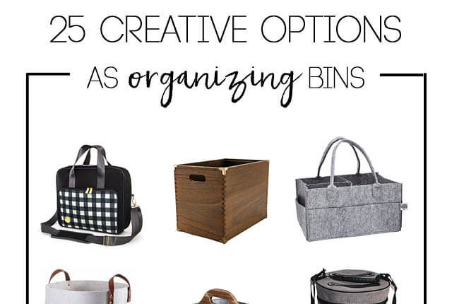 Organizing bins and caddys - featured image