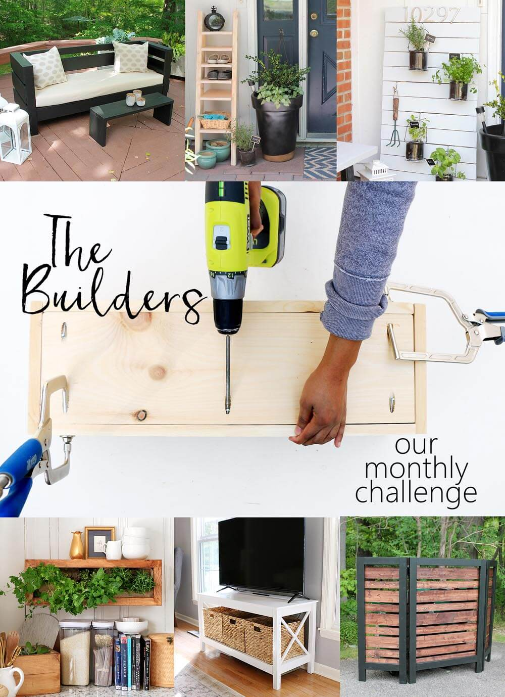 The Builders - our monthly FB challenge