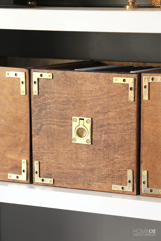 Built Custom Storage Boxes