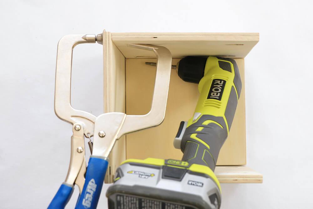 DIY Storage Boxes - Attach Sides 2