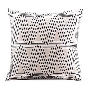 Geometric throw pillow - 01