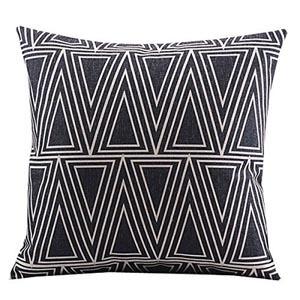 Geometric throw pillow - 05