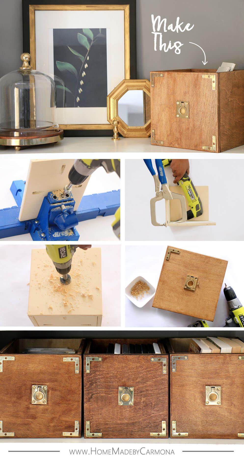 Make This - DIY Custom Storage Boxes