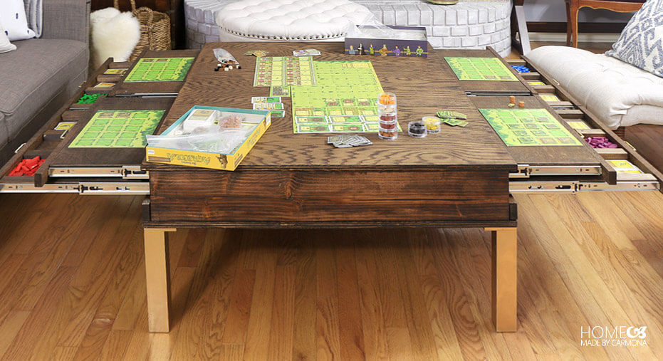 DIY Gamers Coffee Table
