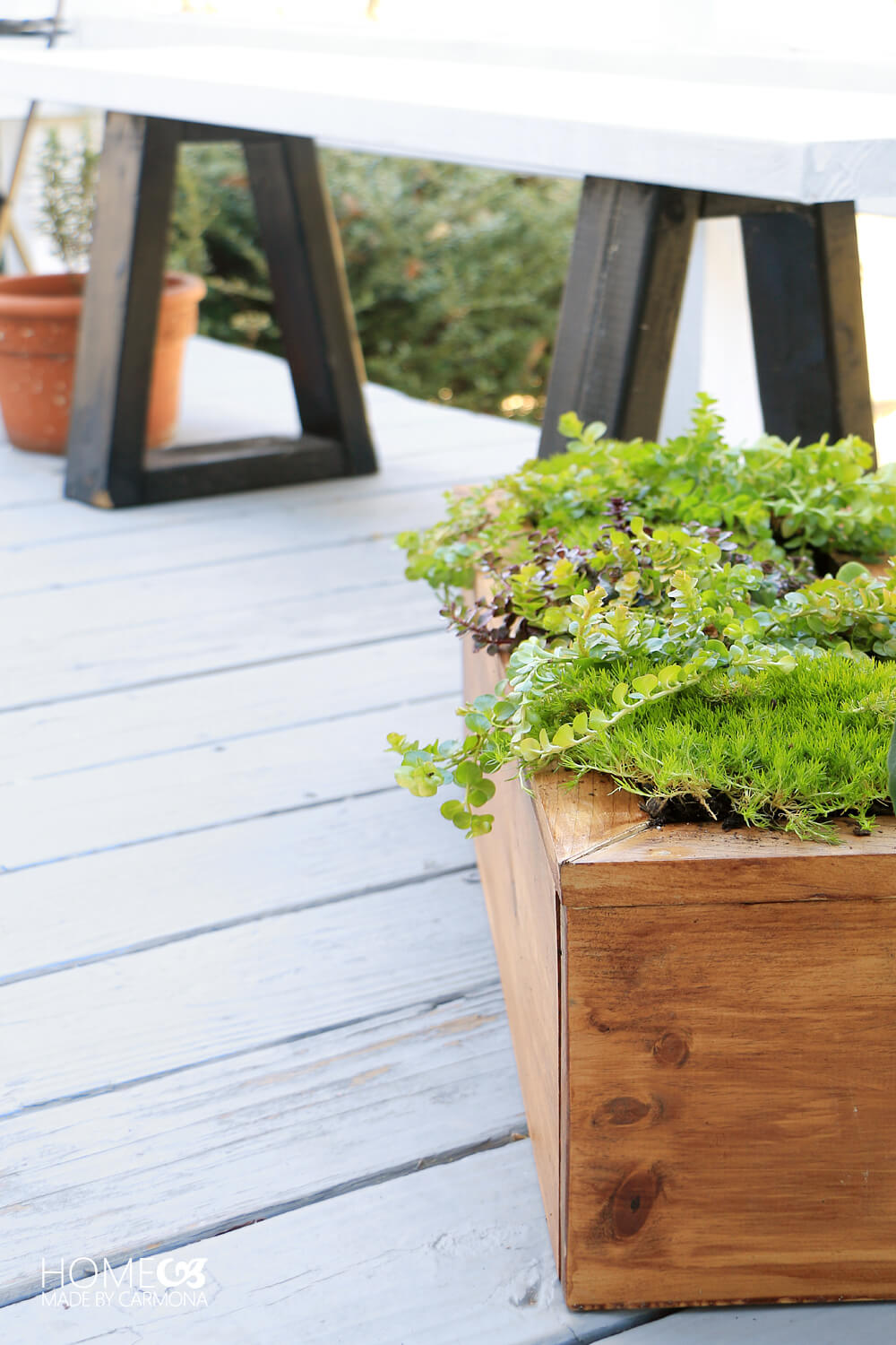 Do-it-yourself planter