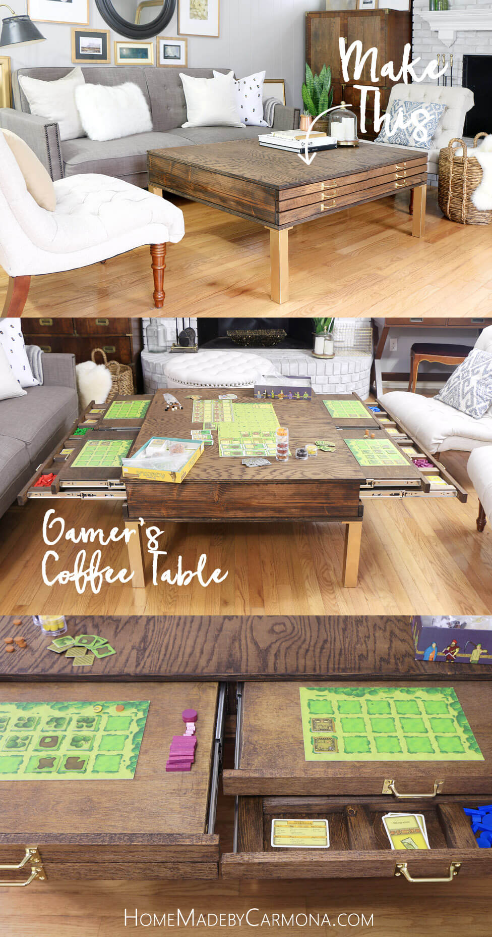 How To Build This Gamer's Coffee Table