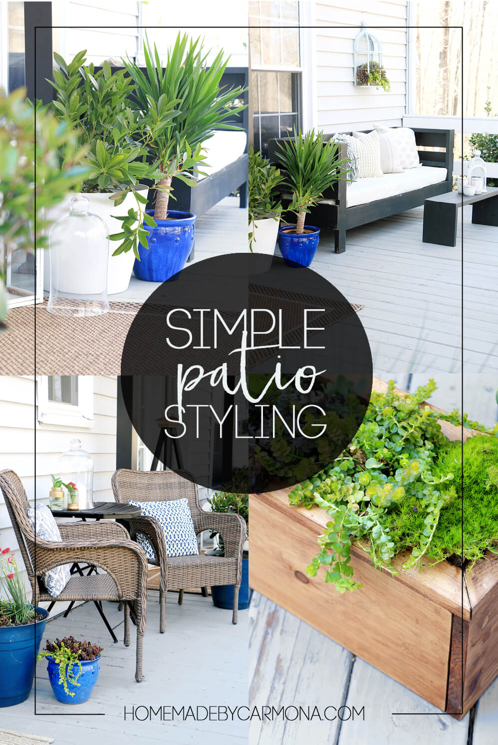 Simple Patio Styling