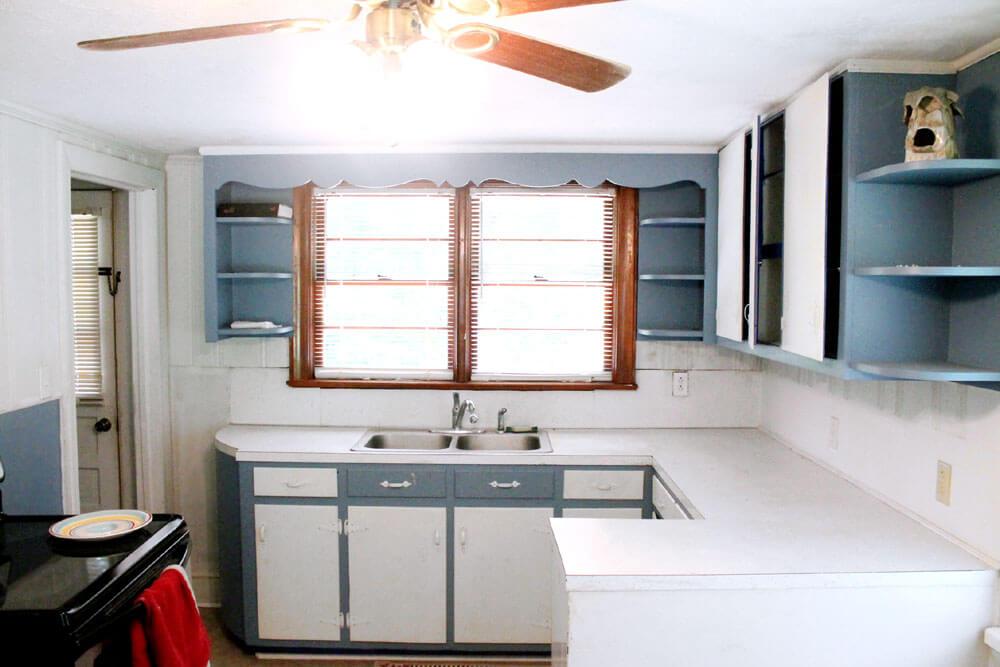 Cottage Kitchen - Before pics