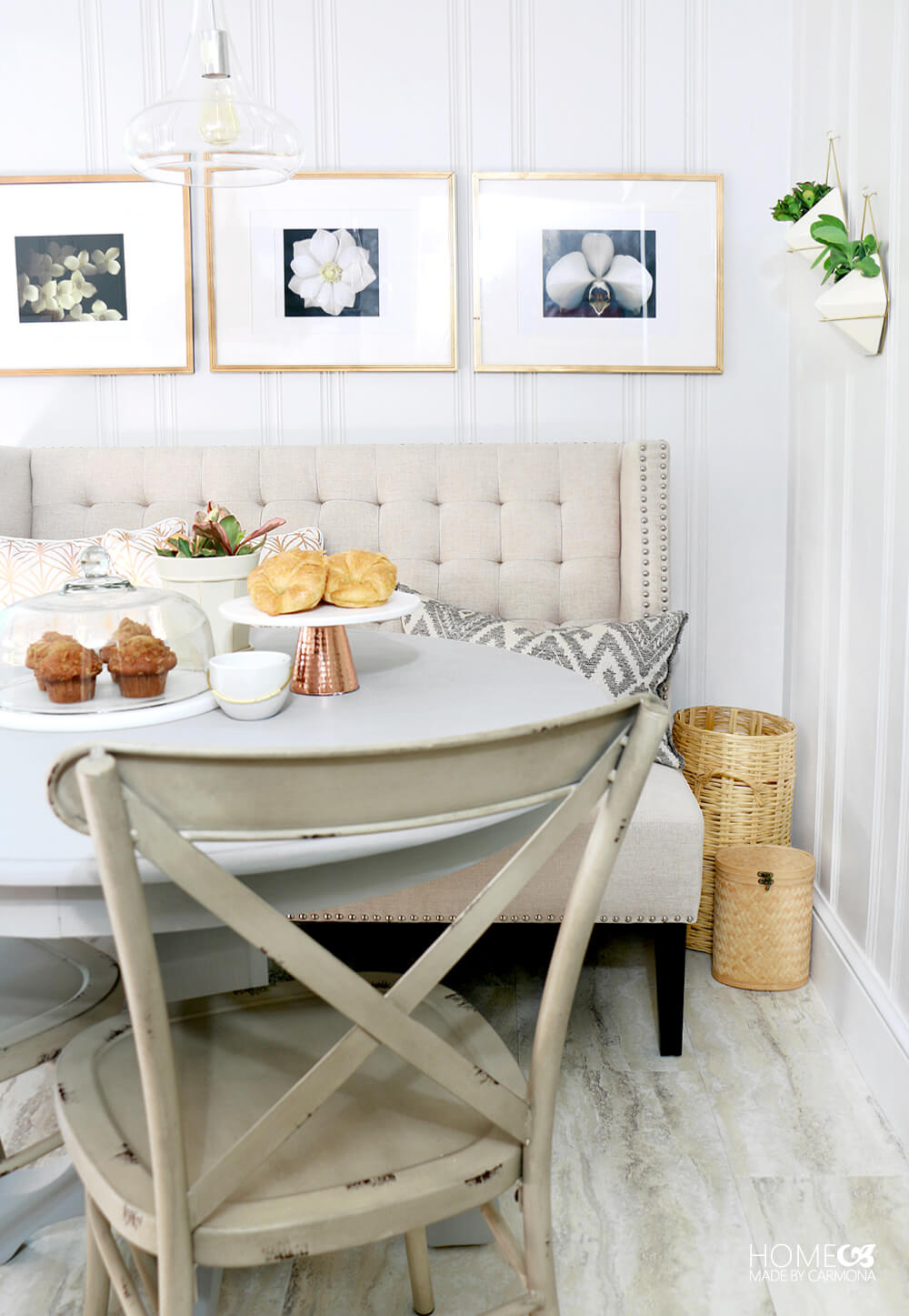 Breakfast Nook - One Room Challenge Makeover