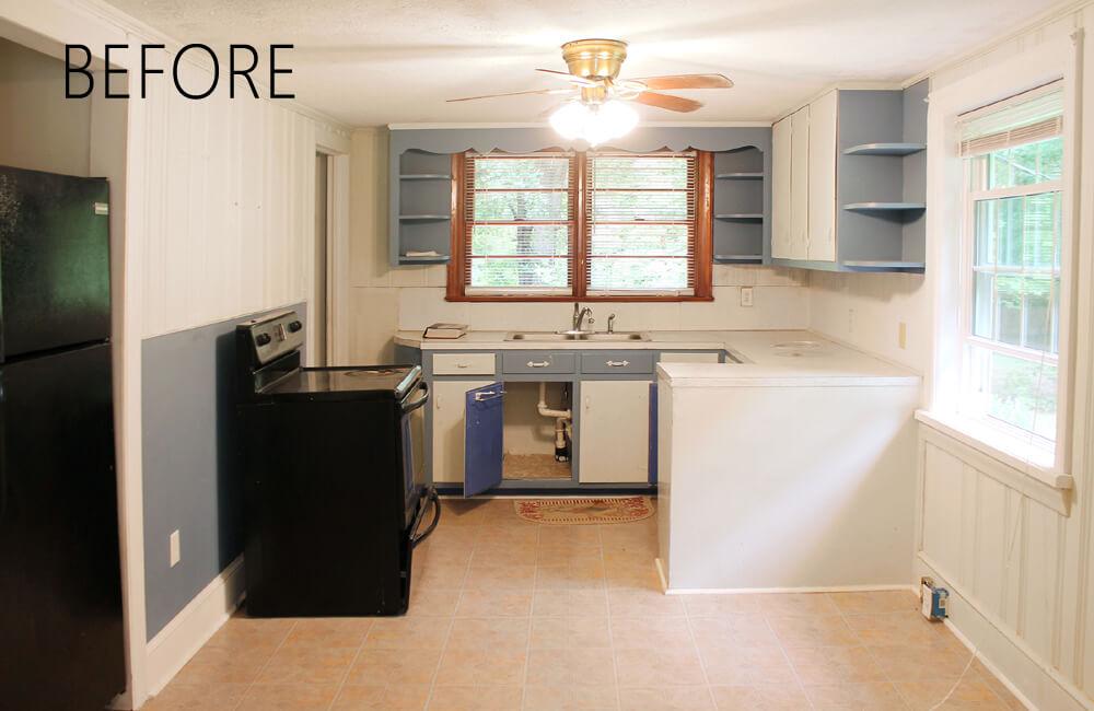 Cottage Kitchen - Before Remodel