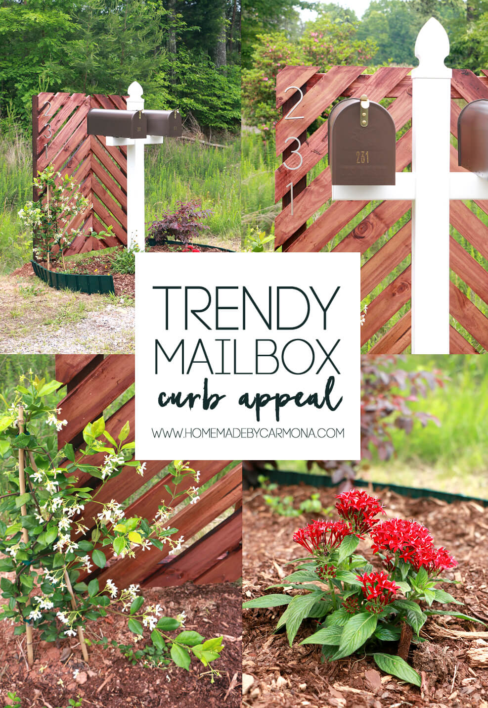 DIY Trendy Mailbox Curb Appeal Tips