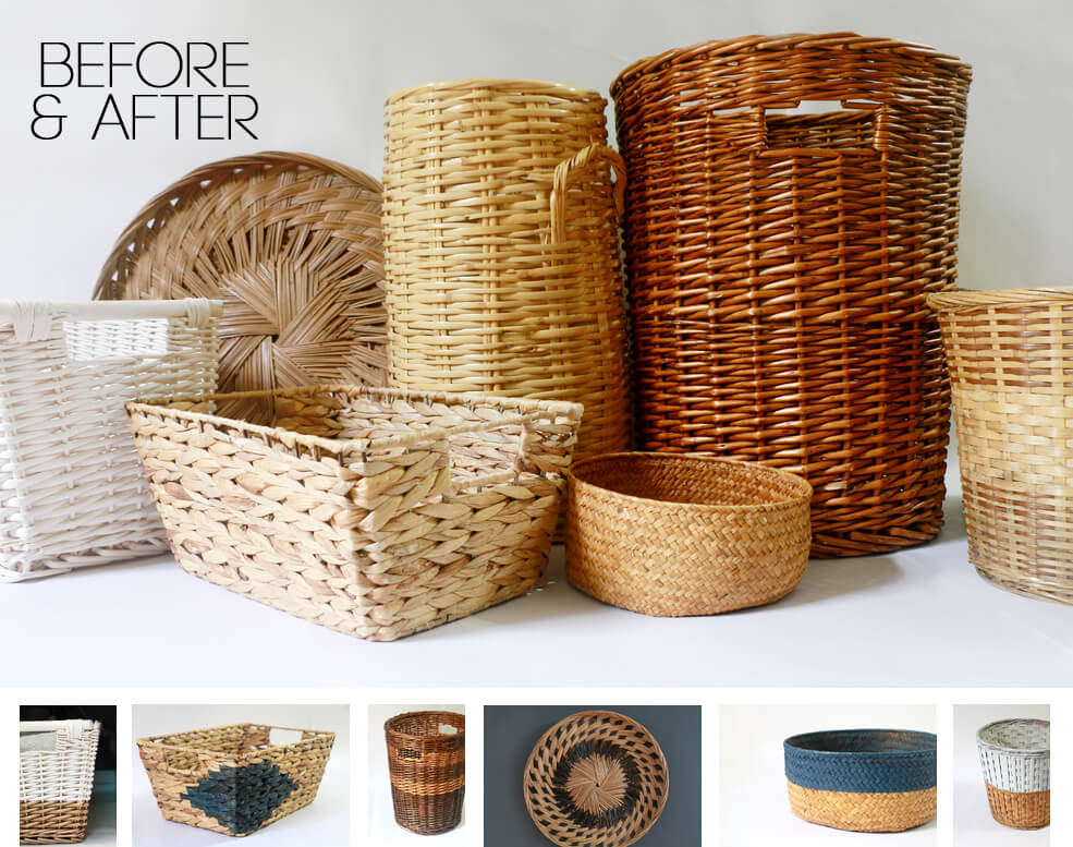 Basket Hacks - Bring new life to old baskets