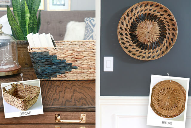 Boring To Beautiful Basket Hacks - featured image
