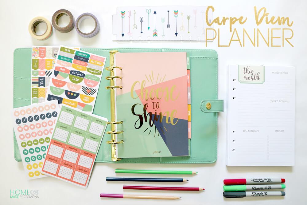 Carpe Diem Planner