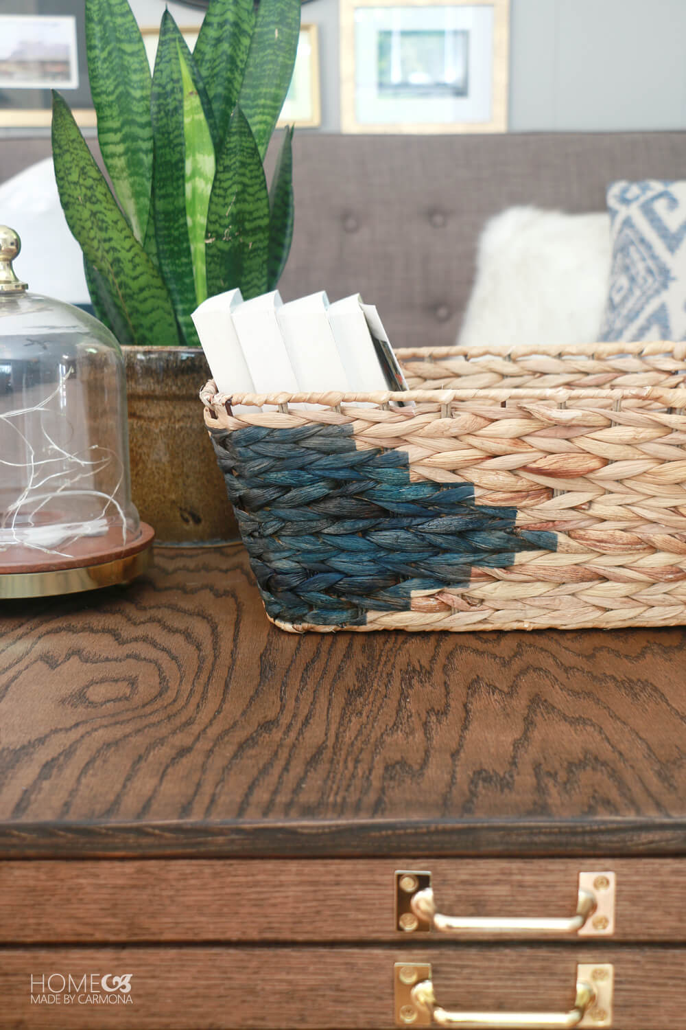DIY Aztec Basket Design