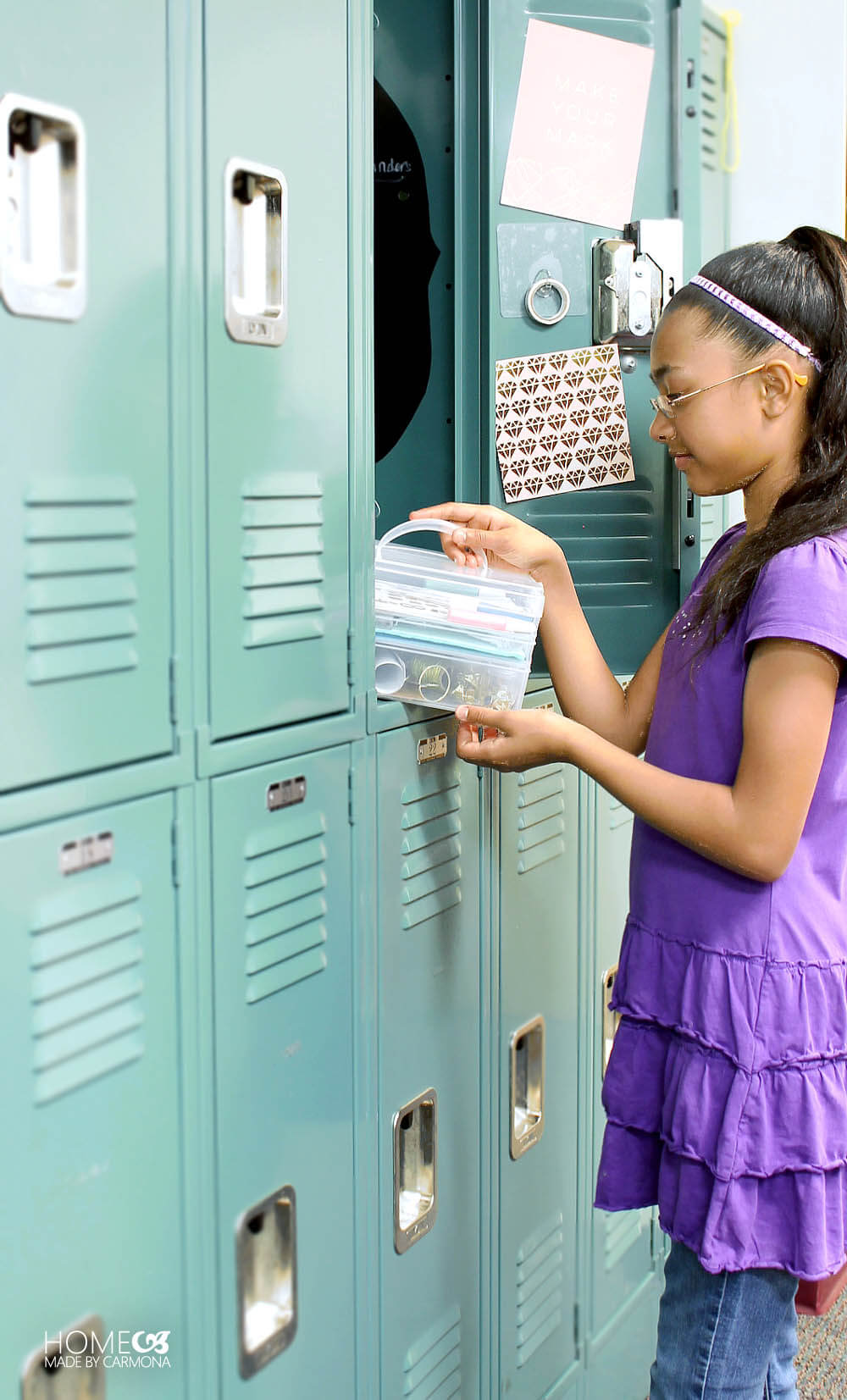 Locker Styling Kit for the first day of school