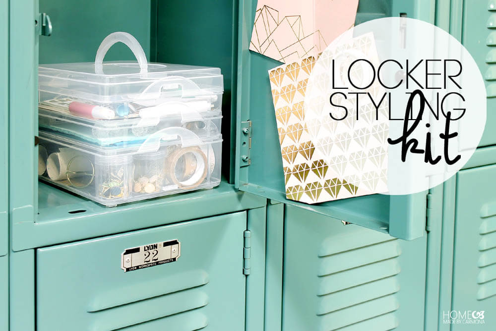 Make a locker styling kit for the first day of school