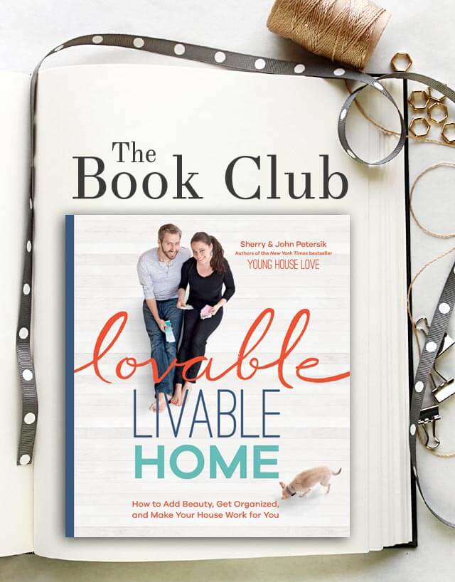 Book club - Lovable Livable Home