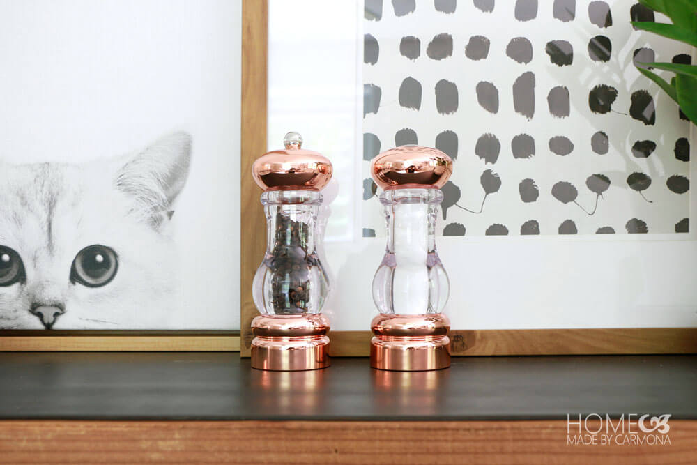 Copper Salt and Pepper Shaker - ktichen trends