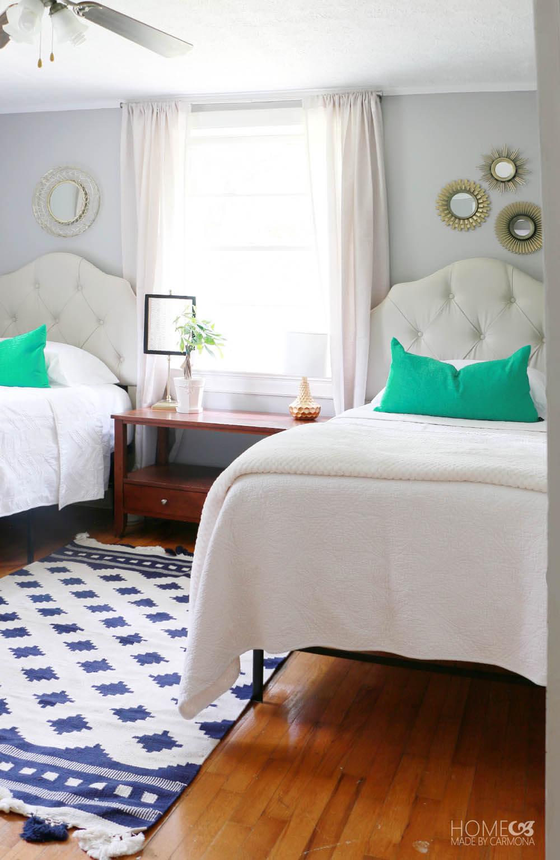 Cottage Twin Bedroom Makeover