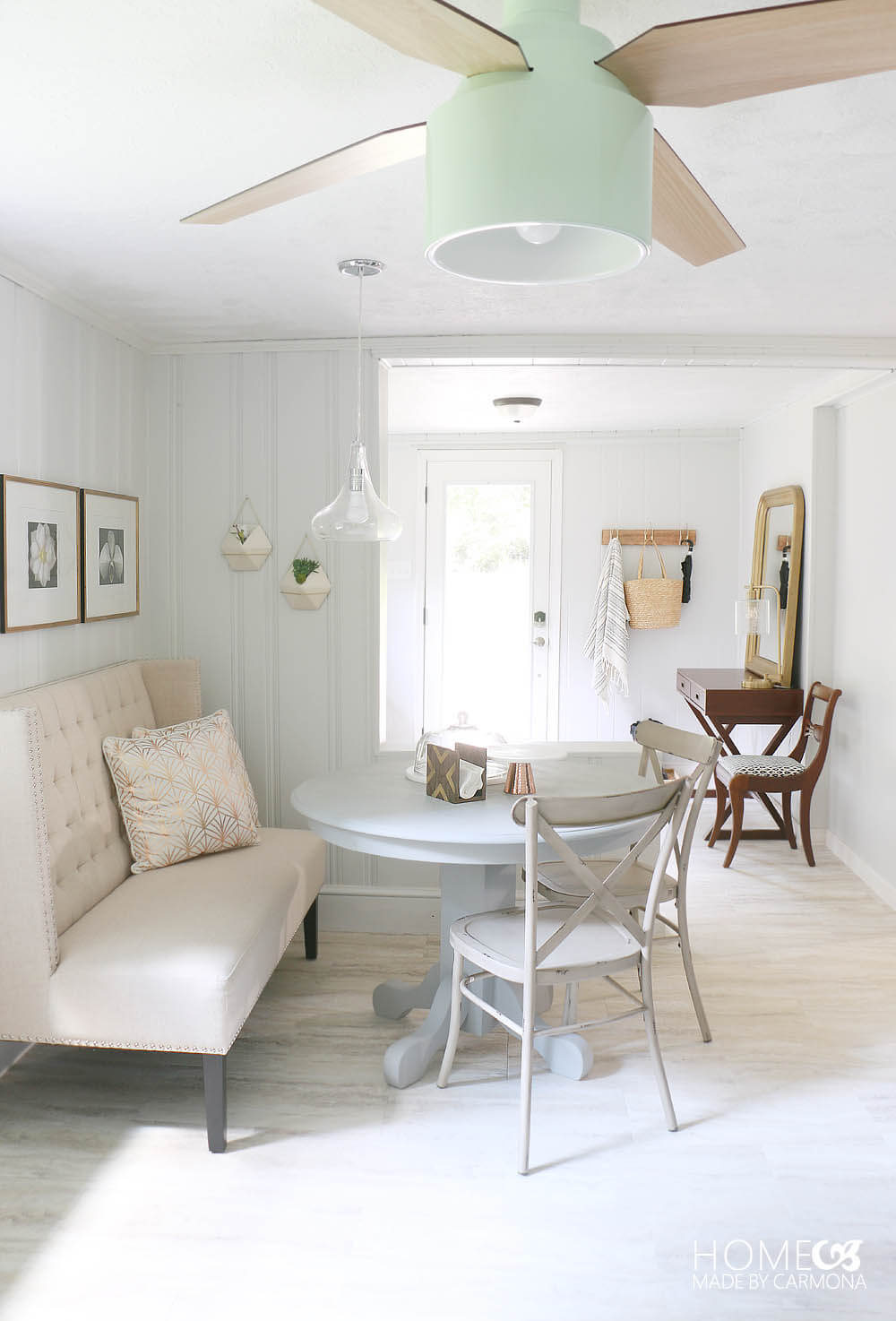 Eating Nook and Entryway Makeover