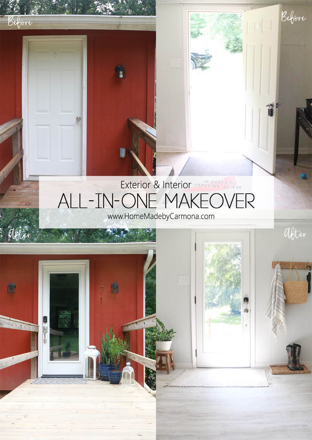 Exterior and Interior Makeover In One