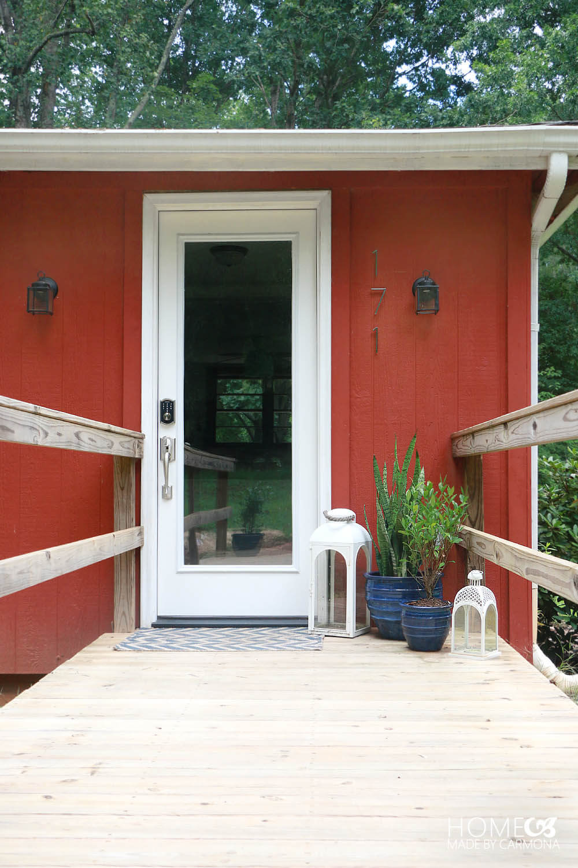 Glass Front Entry Door