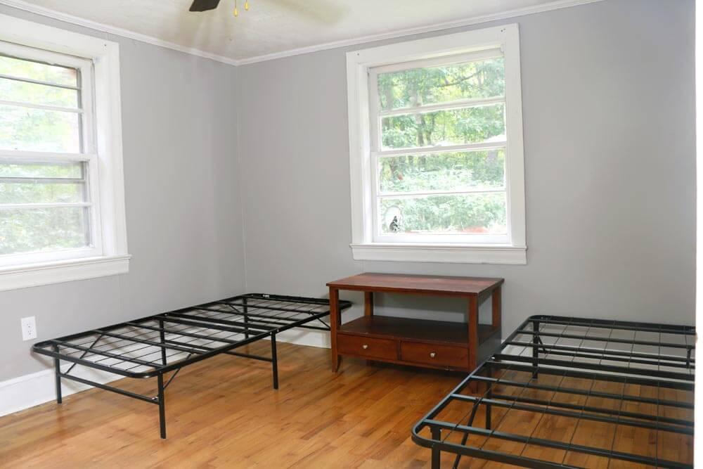 Kids bedroom painted