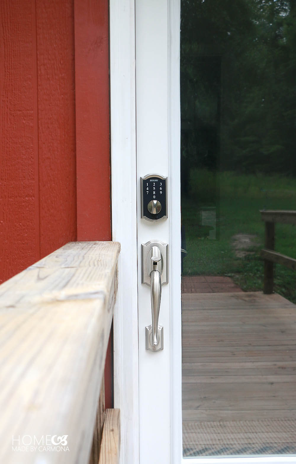 Schlage Touch Keyless Touchscreen Lock - Camelot style