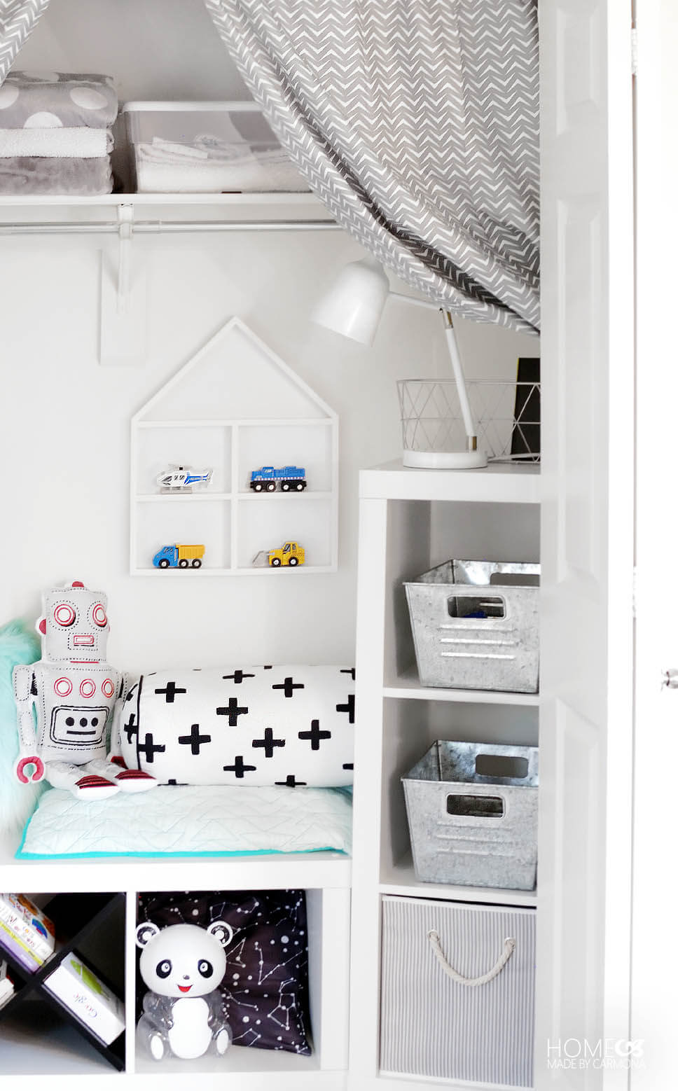 How to Make a Play Nook for Kids