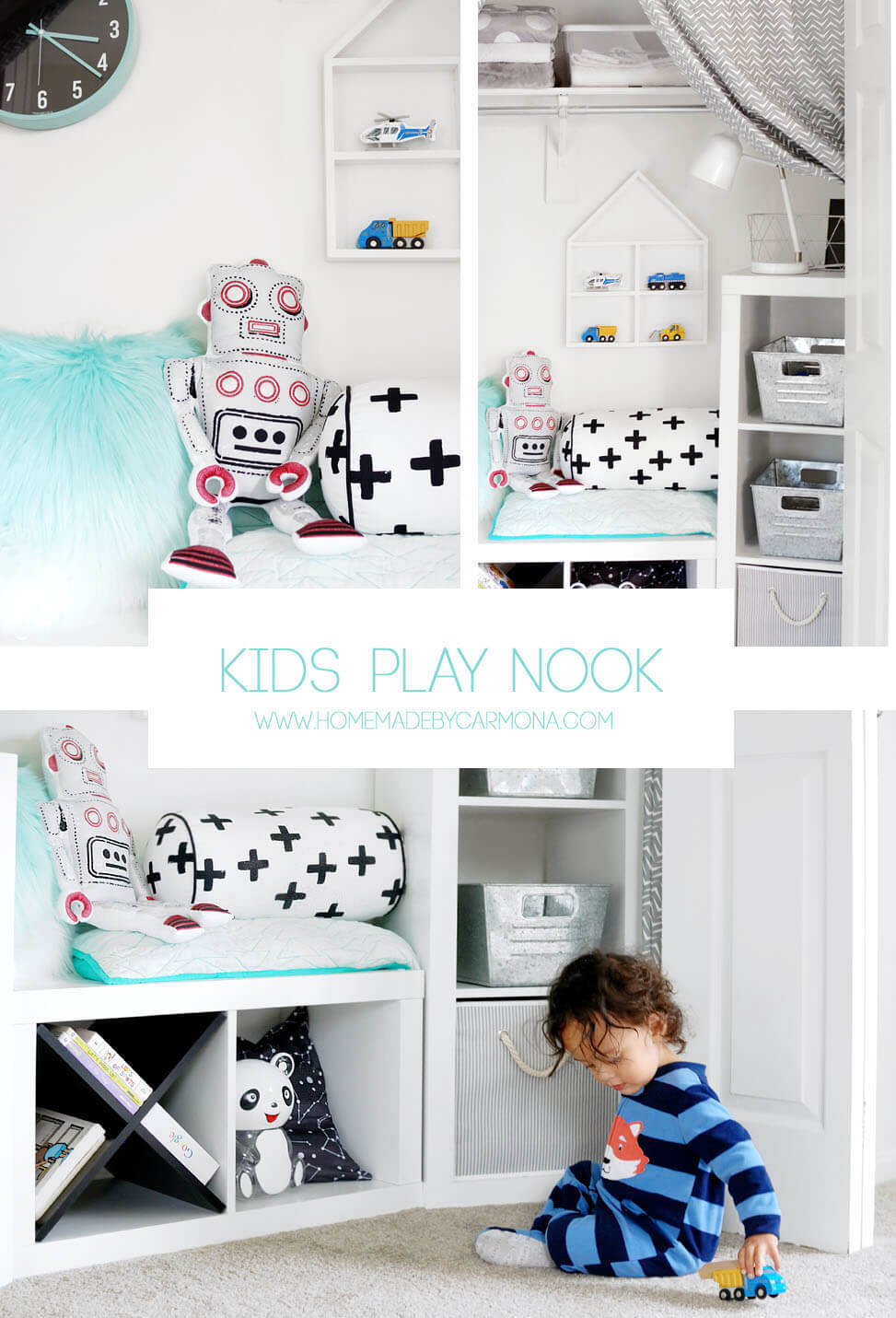 DIY Kid's Play Nook