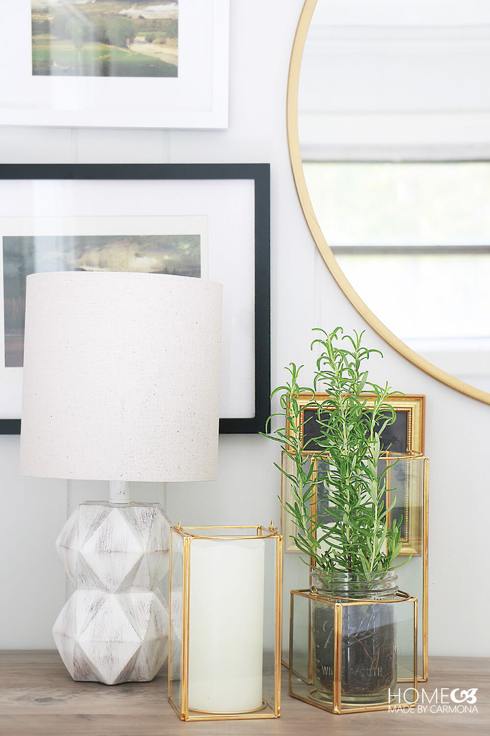 Entryway-console-styling