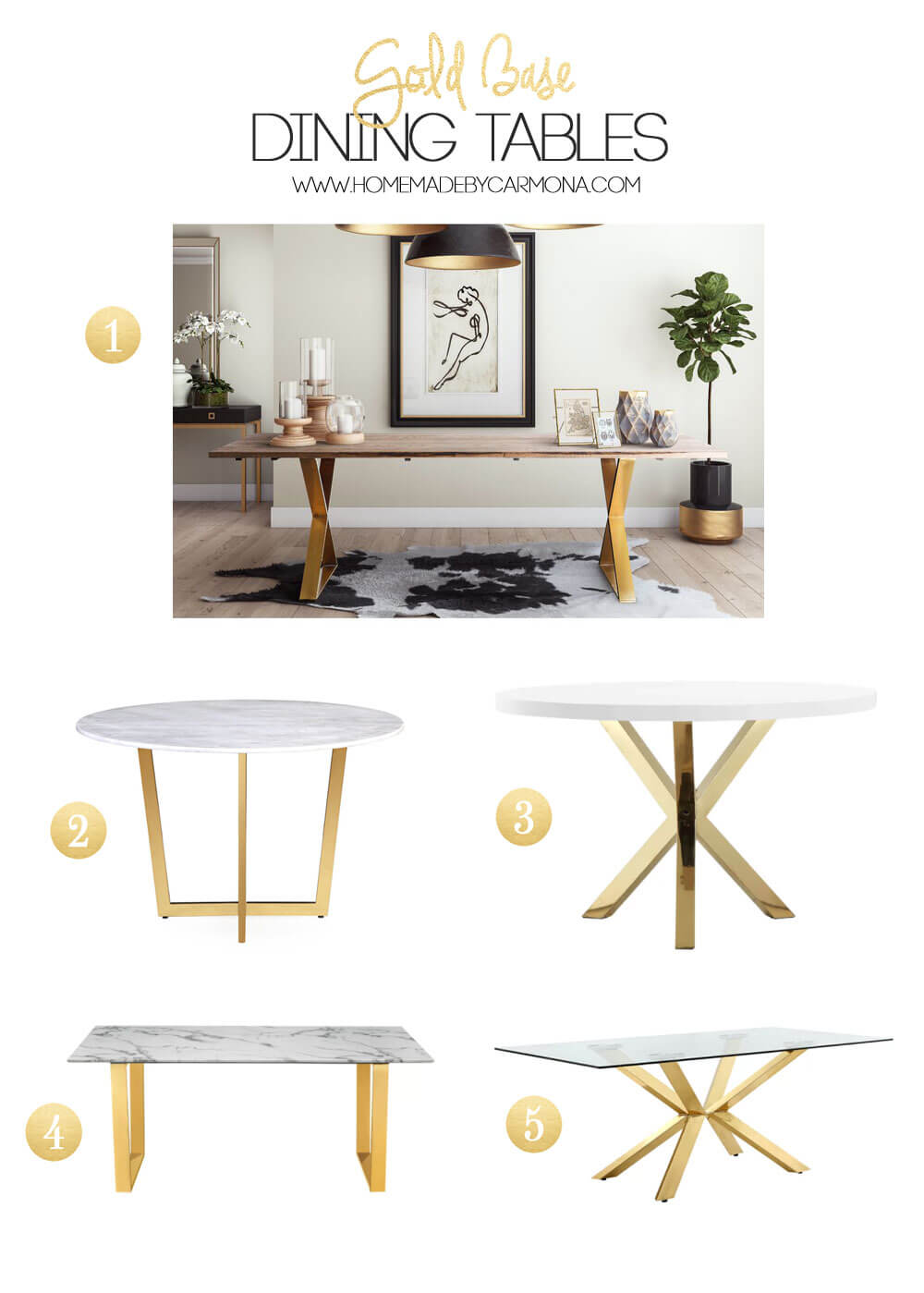 Gold-Base-Table-Options
