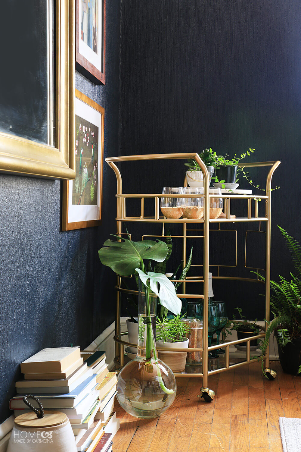 Bar-Cart-in-a-moody-room