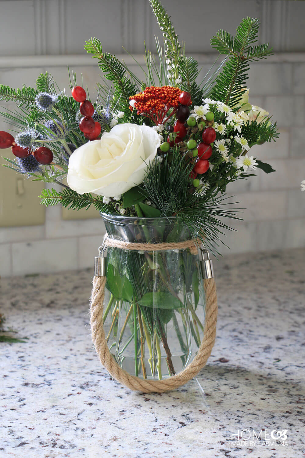 How To Create A Holiday Bouquet Home Made By Carmona