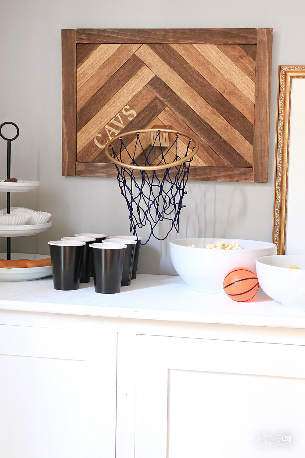 CAVS-basketball-hoop-wall-decor