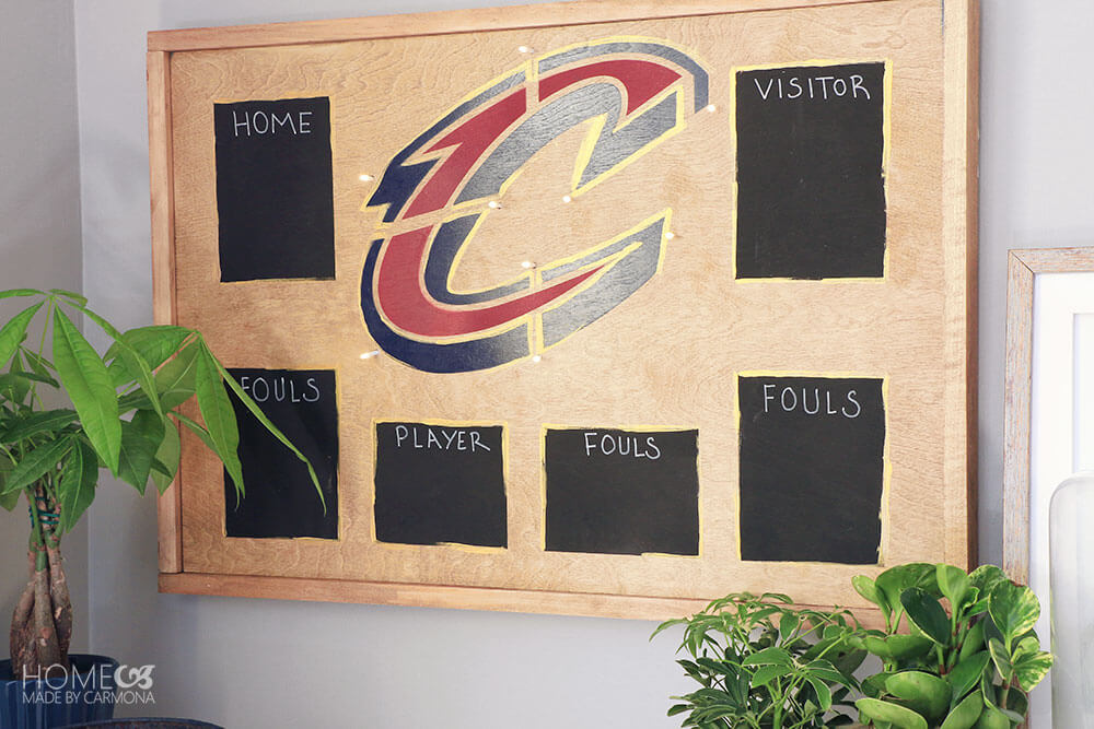DIY-Decorative-Scoreboard