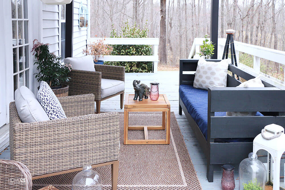 Spring Styling On A Deck