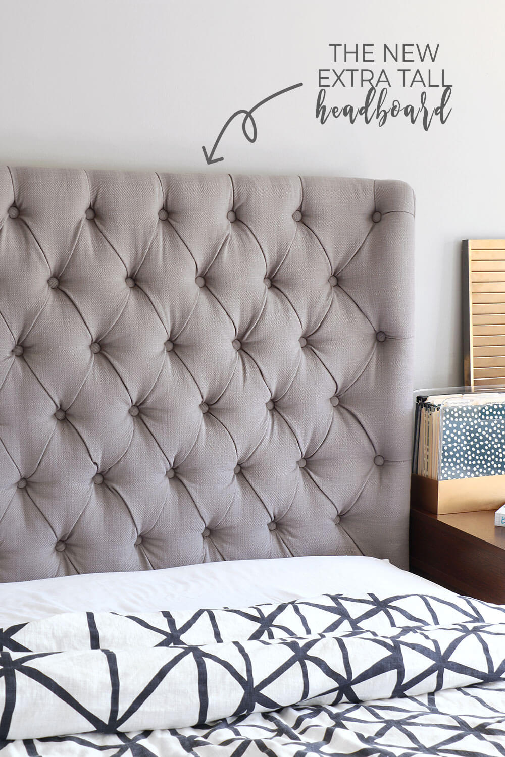 Curved-diamond-tufted-headboard