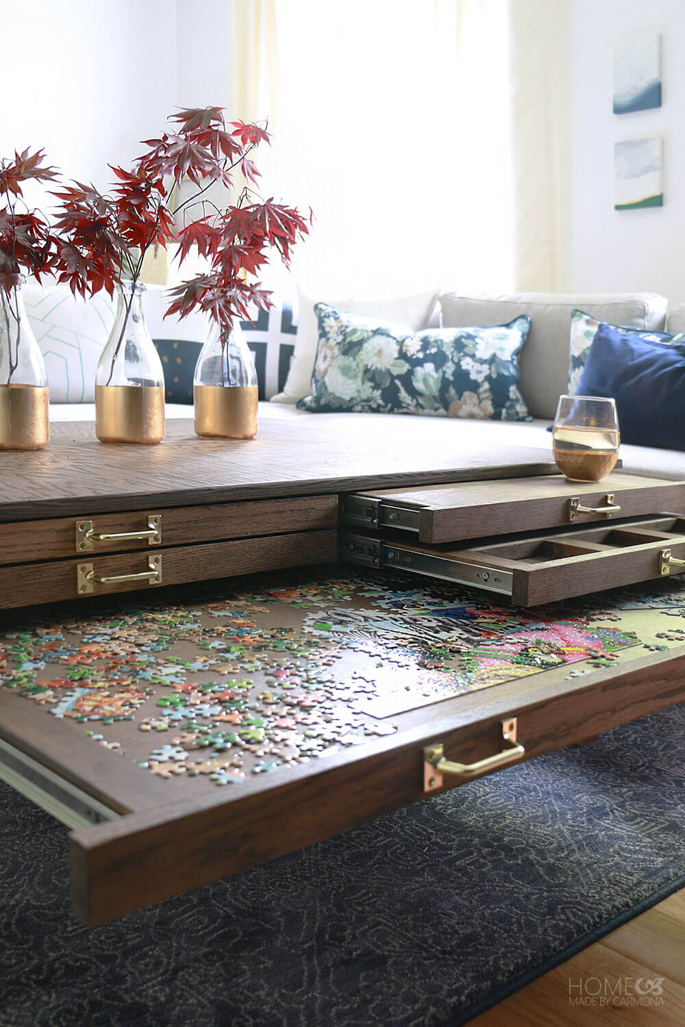 DIY-Gaming-&-Puzzle-Coffee-Table