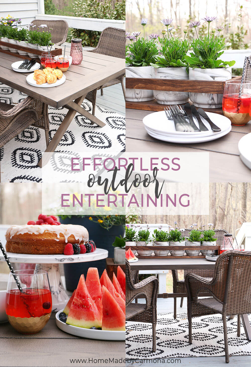 Effortless Entertaining In The Outdoors